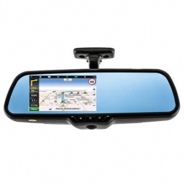 Parksafe MIRROR MONITOR CW Satellite Navigation
